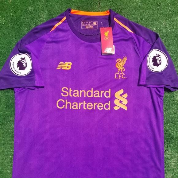 online store fc86c 20ec6 2018/19 Liverpool away soccer jersey Salah NWT